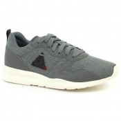 Basket Le Coq Sportif Lcs R600 Gs Craft 2 Tones Garçon Gris Boutique Paris