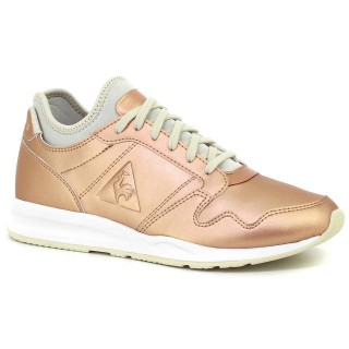 Basket Le Coq Sportif Omega X Gs Metallic Fille Rose Pas Cher Paris