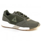 Basket Le Coq Sportif Omega X W Striped Sock Metallic Femme Vert Magasin Paris