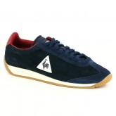 Boutique de Basket Le Coq Sportif Quartz Perforated Nubuck Homme Bleu Rouge