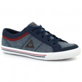 Basket Le Coq Sportif Saint Gaetan Gs Craft Fille Bleu Rouge Nouvelle