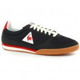 Basket Le Coq Sportif Volley Retro Gum Homme Noir Rouge Rabais Paris