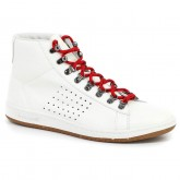Chaussures Le Coq Sportif AA Mid Blanc Alpin Homme Blanc Ventes Privées