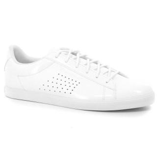 Original Chaussures Le Coq Sportif Agate Lo Patent Femme Blanc