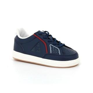 Vente Nouveau Chaussures Le Coq Sportif Icons Inf Sport Gum Fille Bleu Rouge