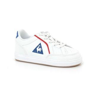 Achat Nouveau Chaussures Le Coq Sportif Icons Inf Sport Gum Garçon Blanc Bleu