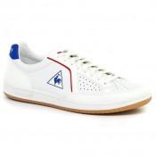 Chaussures Le Coq Sportif Icons Lea Sport Gum Femme Blanc Bleu Réduction