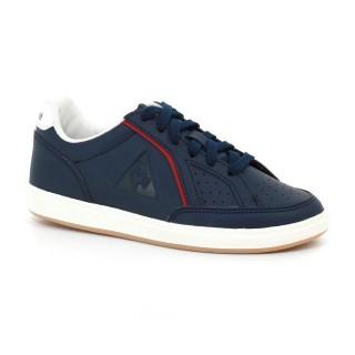 Rabais Chaussures Le Coq Sportif Icons Ps Sport Gum Fille Bleu Rouge