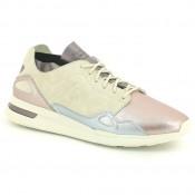 Chaussures Le Coq Sportif Lcs R Flow W Metallic Leather Mix Femme MUL Soldes Paris
