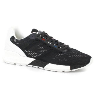 Chaussures Le Coq Sportif Lcs R Pro Engineered Mesh Homme Noir Blanc Promos