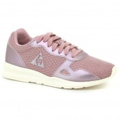 France Chaussures Le Coq Sportif Lcs R600 Gs Feminine Mesh/Metallic Fille Rose Rose