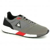 Soldes Chaussures Le Coq Sportif Omega X Techlite Homme Gris Rouge