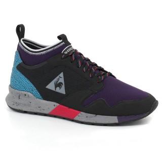 Chaussures Le Coq Sportif Omicron Textile Homme Noir Violet Magasin De Sortie