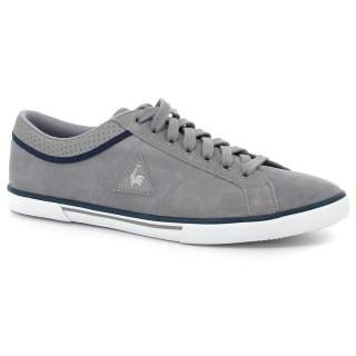 Solde Chaussures Le Coq Sportif Saint Dantin Suede Homme Gris Bleu