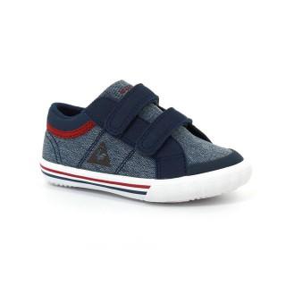 Chaussures Le Coq Sportif Saint Gaetan Inf 2 Tones Garçon Bleu Rouge Soldes France