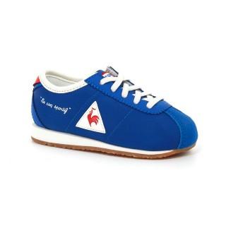 Chaussures Le Coq Sportif Wendon Inf Nylon Garçon Bleu Rouge Magasin Paris
