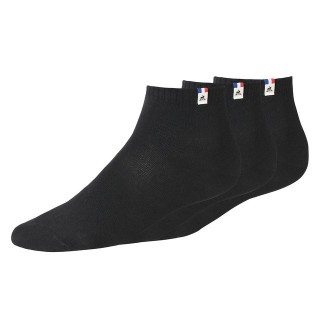 Mode Le Coq Sportif Chaussettes Essentiels Femme Noir