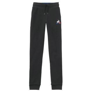 Le Coq Sportif Pantalon Tricolore Enfant Slim Garçon Noir En Soldes