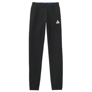 Le Coq Sportif Pantalon Tricolore Slim Femme Noir France Magasin