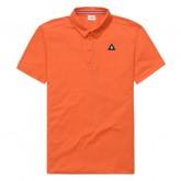 Le Coq Sportif Polo Essentiels Homme Orange Orange Soldes