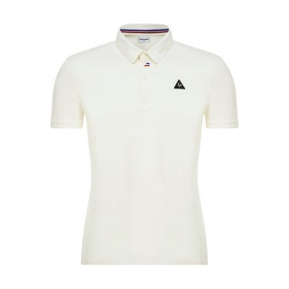 La Collection 2017 Le Coq Sportif Polo LCS Tech Homme Blanc
