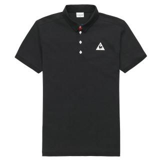 Acheter Le Coq Sportif Polo Tricolore Homme Noir