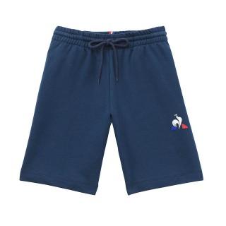 Le Coq Sportif Short Essentiels Enfant Regular Garçon Bleu Soldes