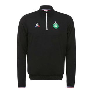 La Boutique Officielle Le Coq Sportif Sweat ASSE Training Homme Noir