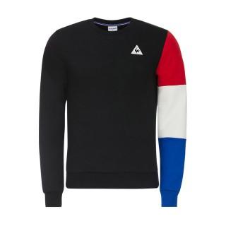 Acheter des Nouveau Le Coq Sportif Sweat Tricolore Homme Noir