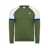 Le Coq Sportif Sweat Tricolore Homme Vert Pas Chere