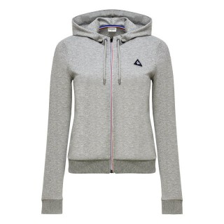 Magasin Le Coq Sportif Sweat à capuche Essentiels Femme Gris Paris