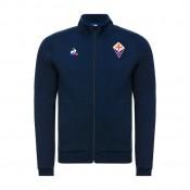 Le Coq Sportif Sweat zippé Fiorentina Pres Homme Bleu Bonnes Affaires
