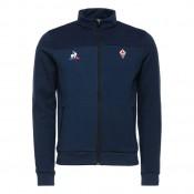 Promotions Le Coq Sportif Sweat zippé Fiorentina Pres Homme Bleu