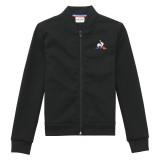 Prix Le Coq Sportif Sweat zippé Tricolore Enfant Garçon Noir