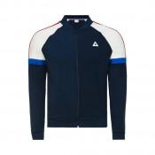 Prix Le Coq Sportif Sweat zippé Tricolore Homme Bleu