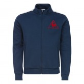 Le Coq Sportif Sweat zippé Tricolore Tennis Homme Bleu Officiel