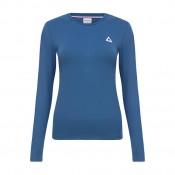 Acheter Le Coq Sportif T-Shirt Manches Longues Essentiels Femme Bleu