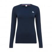 Le Coq Sportif T-Shirt Manches Longues Essentiels Femme Bleu Noir Vendre à des Prix Bas