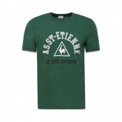 Acheter des Nouveau Le Coq Sportif T-shirt ASSE Fanwear Homme Vert
