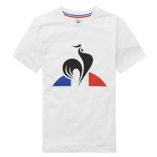 Promotions Le Coq Sportif T-shirt Essentiels Enfant Garçon Blanc