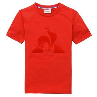 Le Coq Sportif T-shirt Essentiels Enfant Garçon Rouge Site Francais