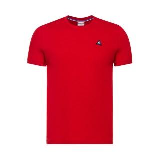 Le Coq Sportif T-shirt Essentiels Homme Rouge Site Officiel