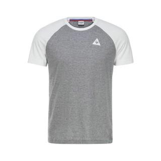 Le Coq Sportif T-shirt Essentiels n°2 Homme Gris Blanc Pas Cher