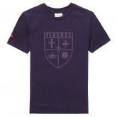 Le Coq Sportif T-shirt Fiorentina Fanwear Enfant Garçon Violet Acheter