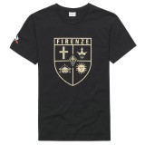 Le Coq Sportif T-shirt Fiorentina Fanwear Homme Noir Promos