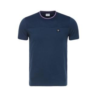 Le Coq Sportif T-shirt LCS Tech Homme Bleu Promo Prix Paris