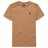 Site Officiel Le Coq Sportif T-shirt Stadium Homme Marron Prix