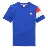 Le Coq Sportif T-shirt Tricolore Enfant Garçon Bleu France Magasin