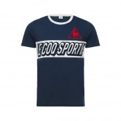 Achetez Le Coq Sportif T-shirt Tricolore Football Homme Bleu
