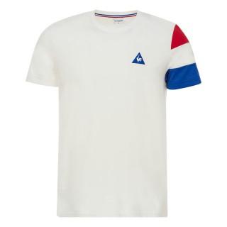 France Le Coq Sportif T-shirt Tricolore Homme Blanc